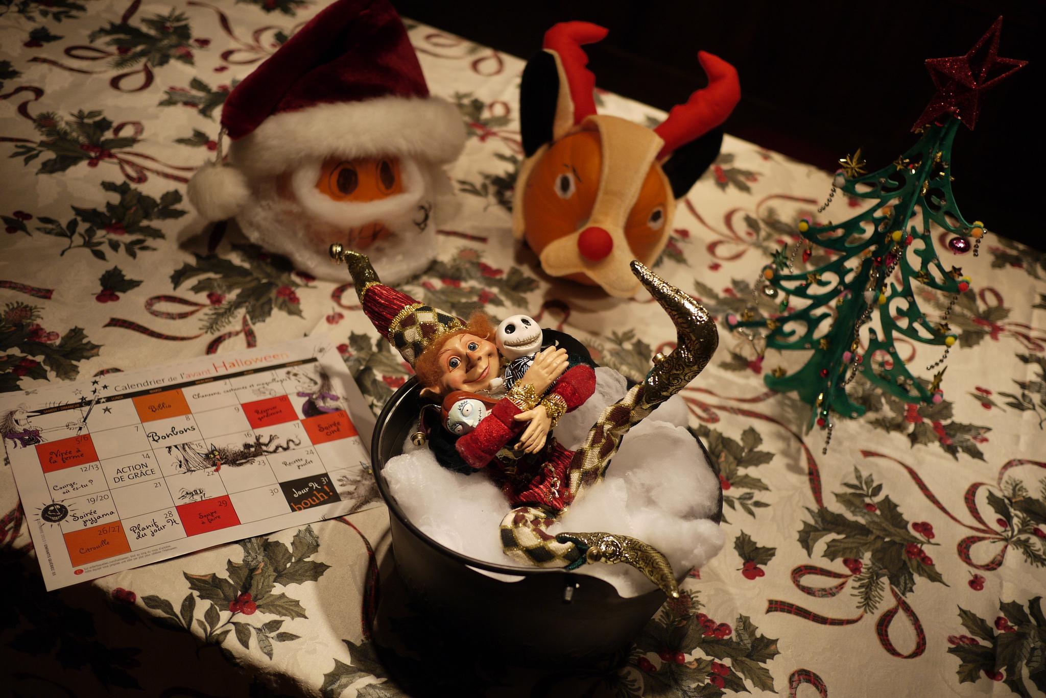 C'est Noël ou c'est l'Halloween? Nos lutins revisitent l'Étrange Noël de M. Jack!