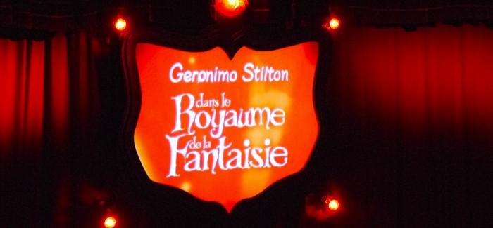 Geronimo Stilton en famille: soirée magique au Royaume de la fantaisie