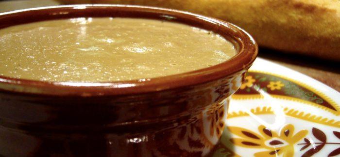 Pâté de foie à la mangue et au cari