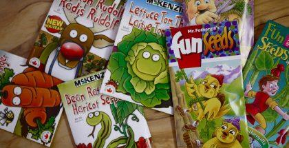 Sachets de semis pour enfants