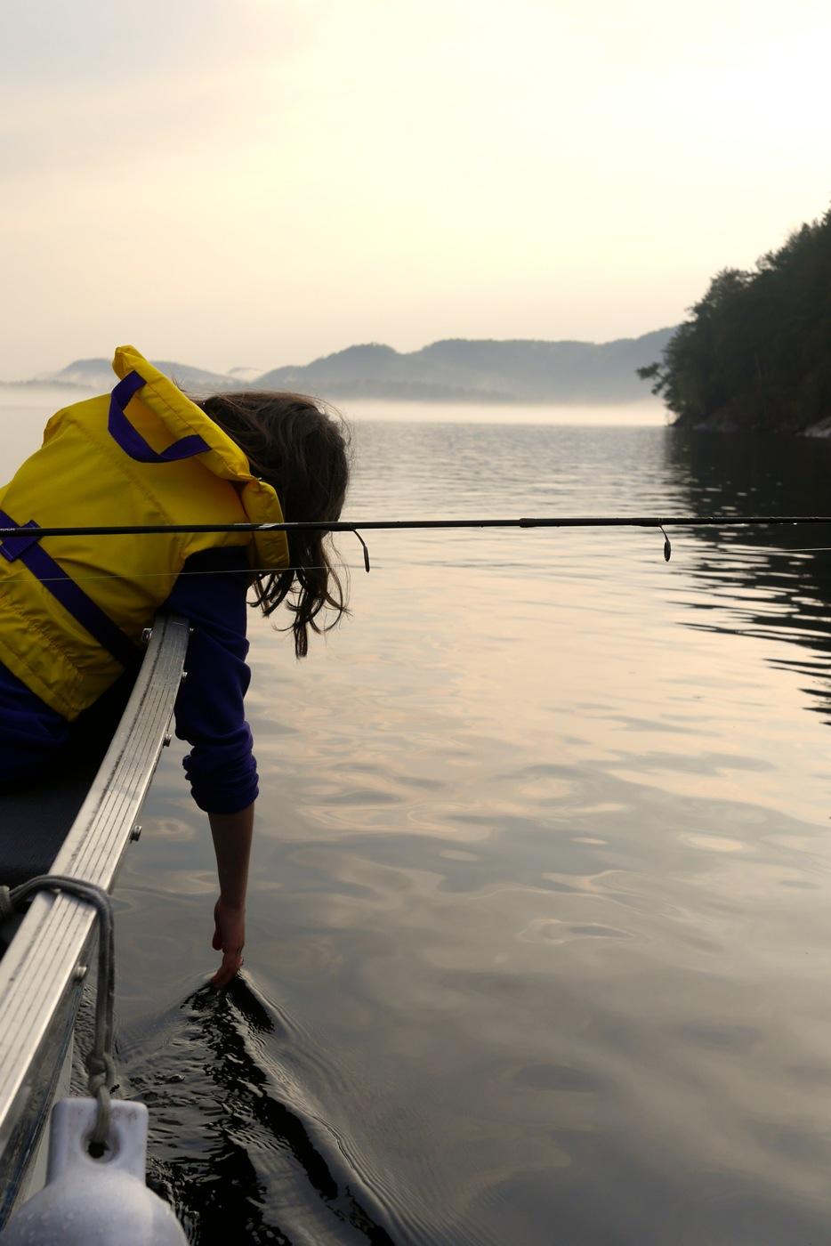 La championne de pêche