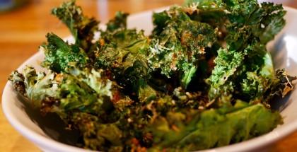 Chips de kale au parmesan: LE hit à notre table!