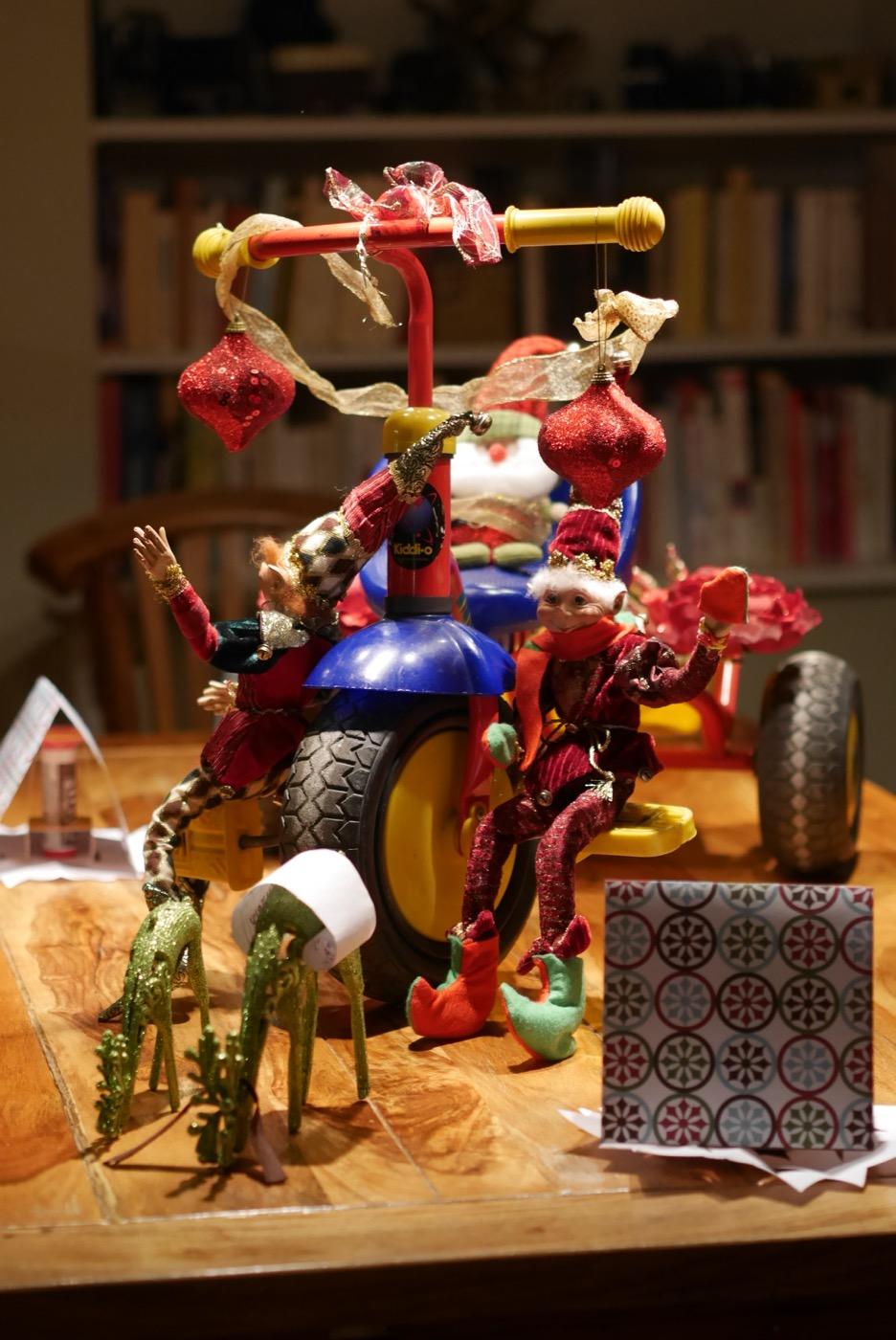 Parade du père Noël et ses lutins