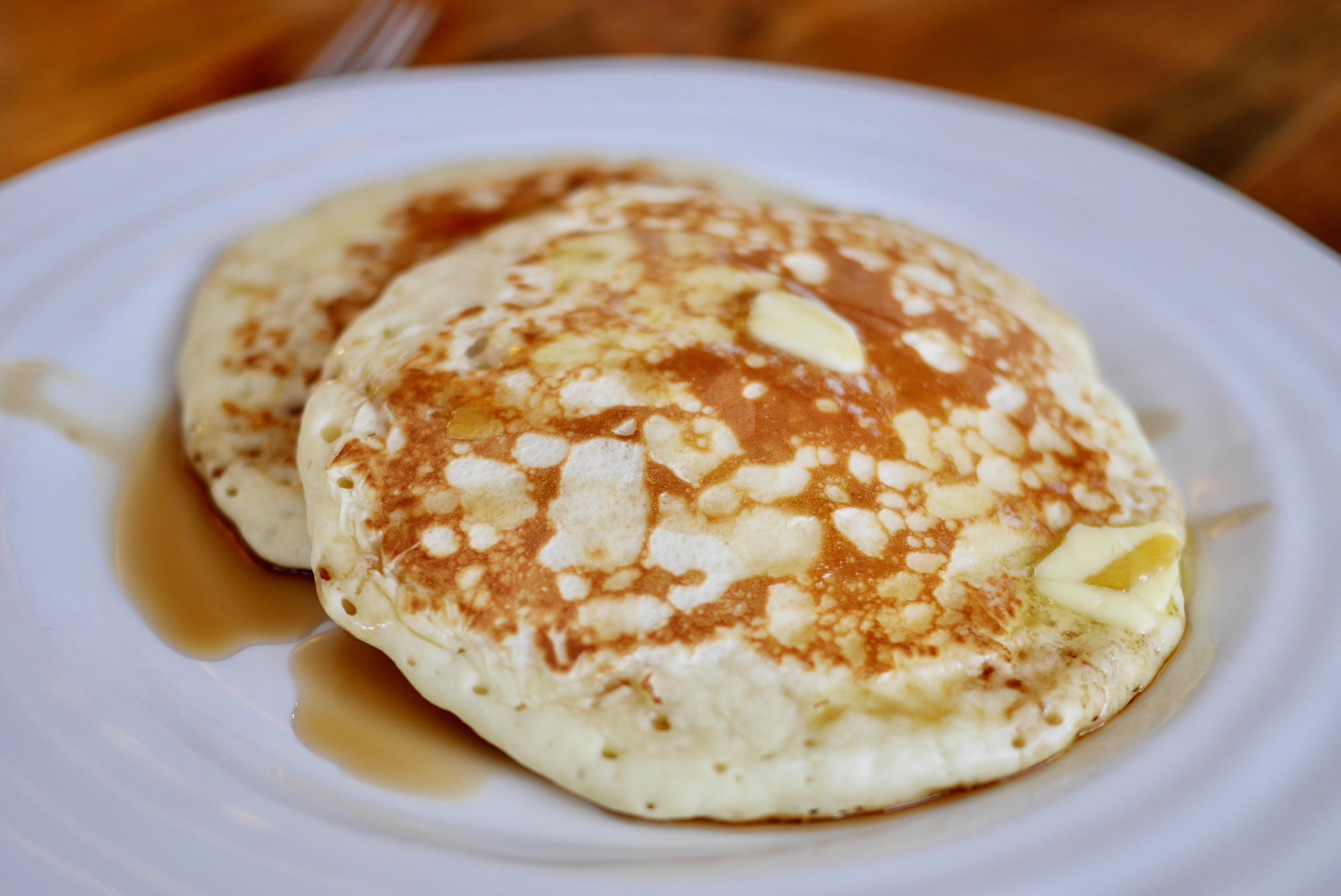 Pancakes au lait fermenté Banlieusardises