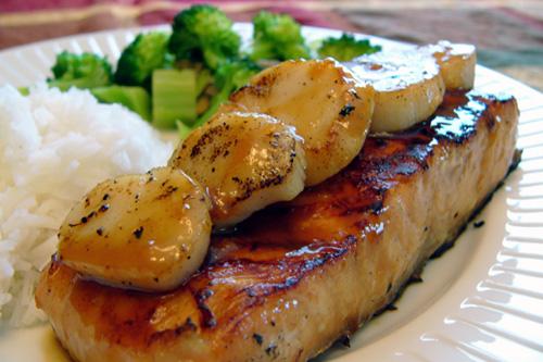Pav de saumon en cales de p toncles banlieusardises - Comment cuisiner pave de saumon ...