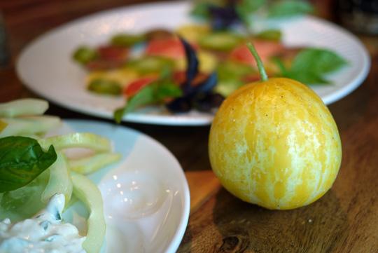 Concombre citron: tantôt bon, tantôt beau