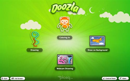 Doozla: parfait pour les petits Picasso de l'ère numérique