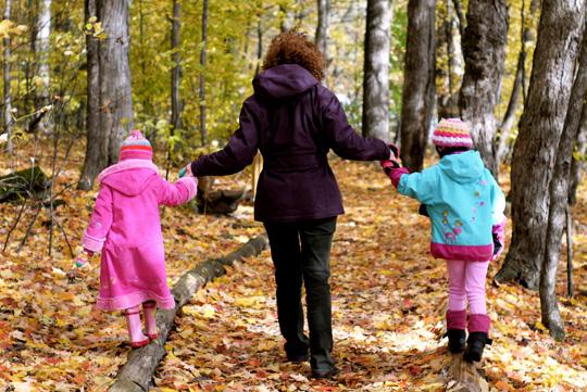 Marcher sa région: Centre d'interprétation de la nature de Boisbriand