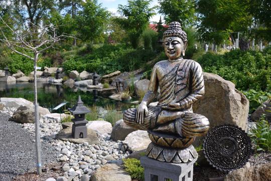 Route des gerbes d 39 angelica visiter cet automne en for Le jardin zen lagnieu