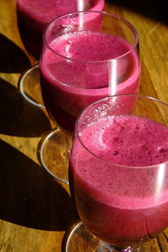Cocktail De Betterave Et De Fruits Banlieusardises