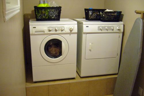 am nager un pi destal pour laveuse s cheuse une fraction. Black Bedroom Furniture Sets. Home Design Ideas
