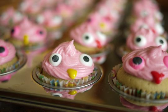 Mini-blobs: des petits gâteaux dont on ne fait qu'une bouchée