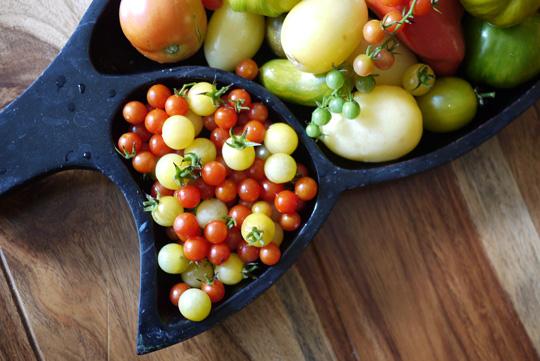 Sortez votre loupe: voici mes tomates miniatures
