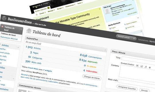 De Movable Type à WordPress: étape par étape