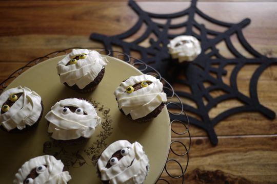 Muffins momies: juste à temps pour Halloween!