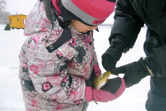 Pêche blanche sur la Rivière des Mille-Îles