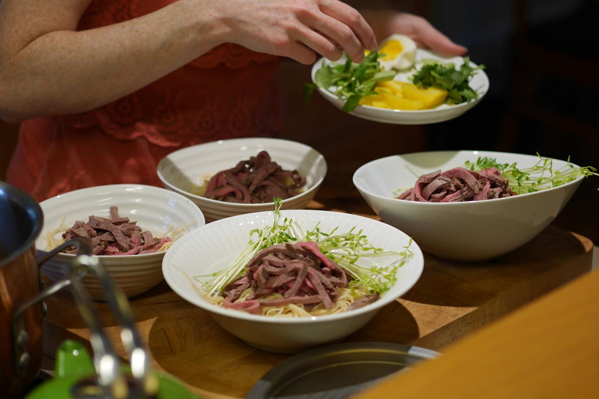 La soupe Ramen s'accommode de bien des interprétations, selon ce que vous avez sous la main ou votre inspiration.