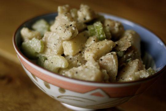 Salade de pommes de terre sautées au Ciel de Charlevoix