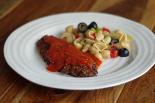 Escalope de veau parmigiana